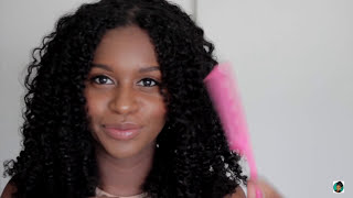 My Go To Protective Styles Using Flaxseed Gel   2 Hairstyles