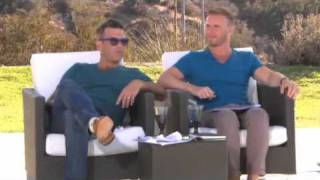 X Factor Judges Houses Robbie Williams wearing Loakes