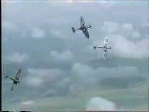 Battle Of Britain (Movie) - Stuka Vs Spitfire