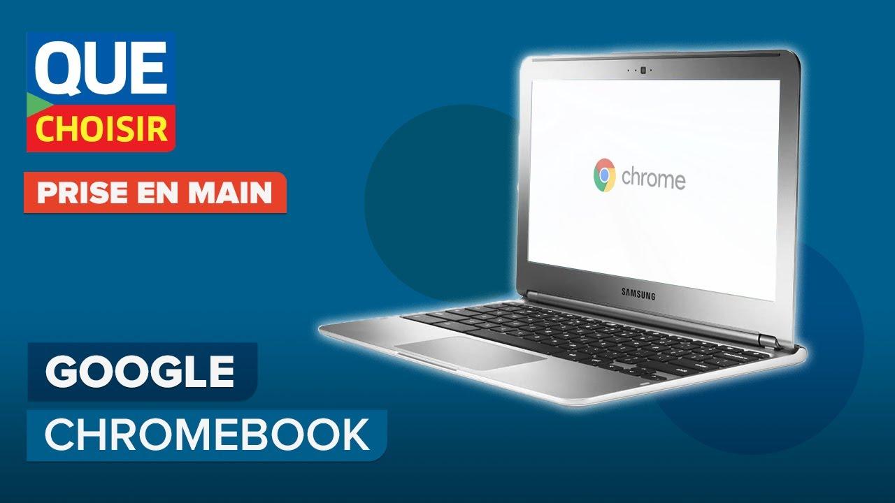 Le nouveau Chromebook de Google