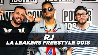 RJ Freestyle With The LA Leakers | #Freestyle018