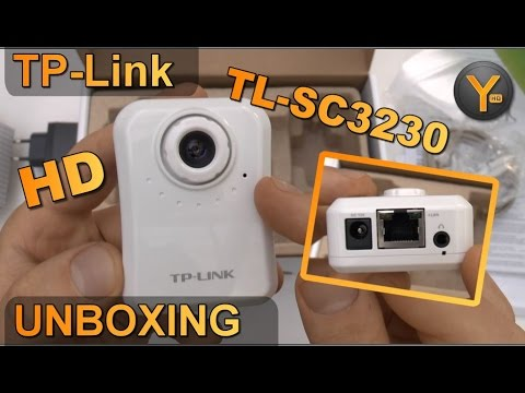 Unboxing/First Look: TP-Link TL-SC3230 / H.264 HD IP Kamera