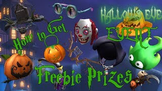 """How to Get the """"Freebie Prizes"""" - ROBLOX HALLOWS EVE EVENT"""