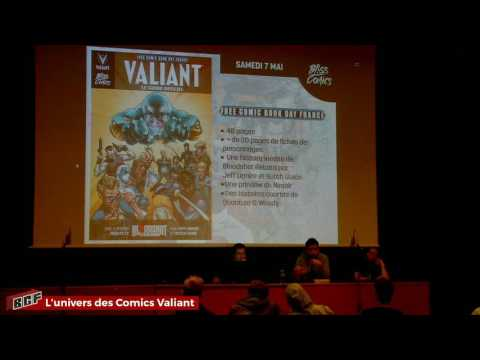 [BGF Live] L'Univers des Comics Valiant en France