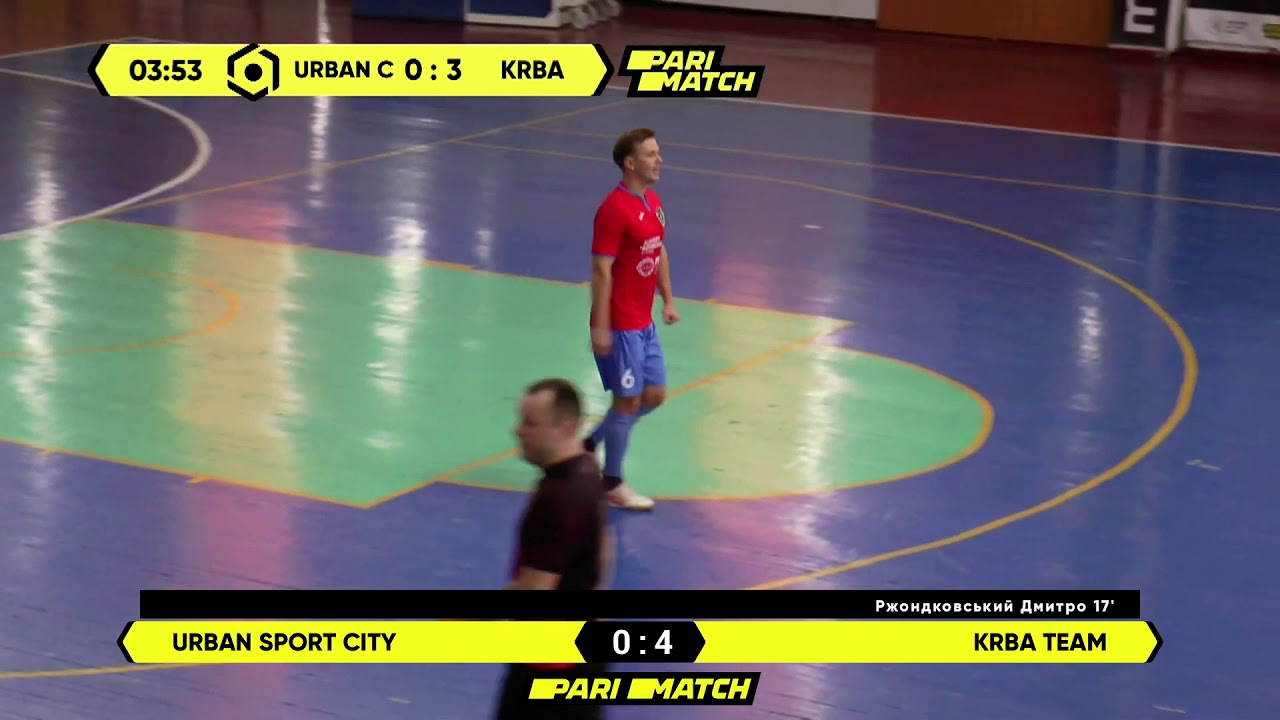 Огляд матчу | Urban Sport City 3 : 6 KRBA Team