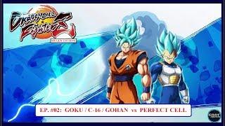 GOKU / C-16 / GOHAN  vs  PERFECT CELL - DBF Z Mugen Edition Ep: 02 (Dramatic Finish) [ HD ] ✔
