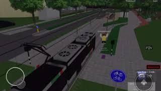 Moi et Stefan ROBLOX RET TRAM SIMULATOR 2017 Nous essayons de contrôler un tram