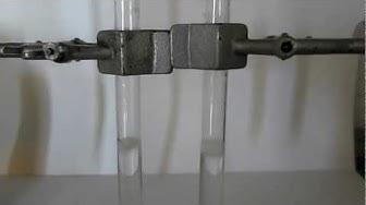 Suolahapon ja Magnesiumin välinen reaktio