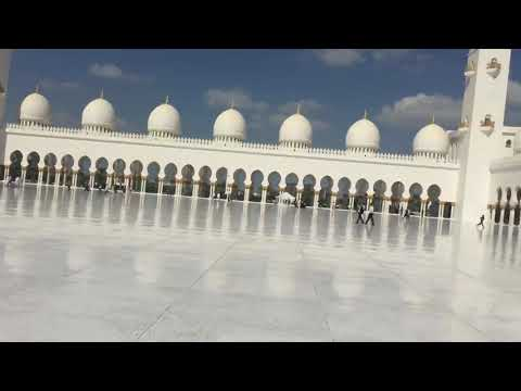 Sheikh Zayed Grand Mosque outside view