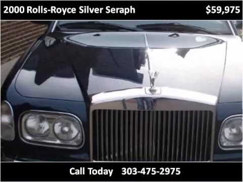 2000 rolls royce silver seraph used cars denver co youtube. Black Bedroom Furniture Sets. Home Design Ideas