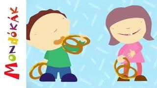 Gyerekek, szeretik a perecet (Gyerekdalok és mondókák, rajzfilm gyerekeknek)