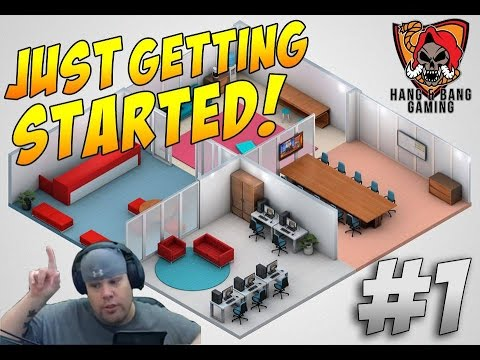 First Look Friday - Start Up Company Game - Lets Play (PC) Episode #1