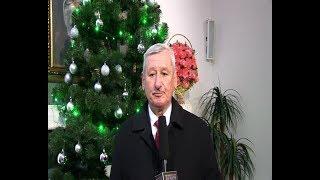Życzenia noworoczne starosty jasielskiego Adama Pawlusia