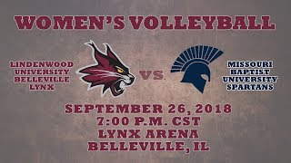 Women's Volleyball: Lindenwood University Belleville vs. Missouri Baptist University Spartans