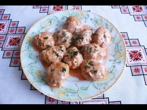 Тефтели рецепт в соусе просто и быстро Тефтелі рецепт приготування Как приготовить тефтели