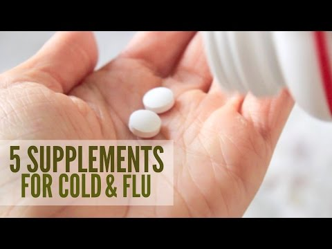 5 Supplements for Cold & Flu | Natural Immune Boosters
