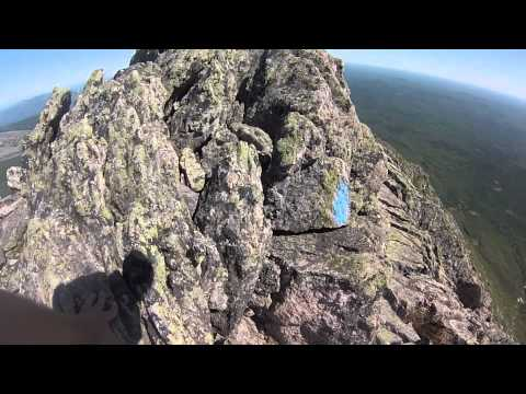 Katahdin Hiking: Whole Knife Edge w/Cliff GoPro