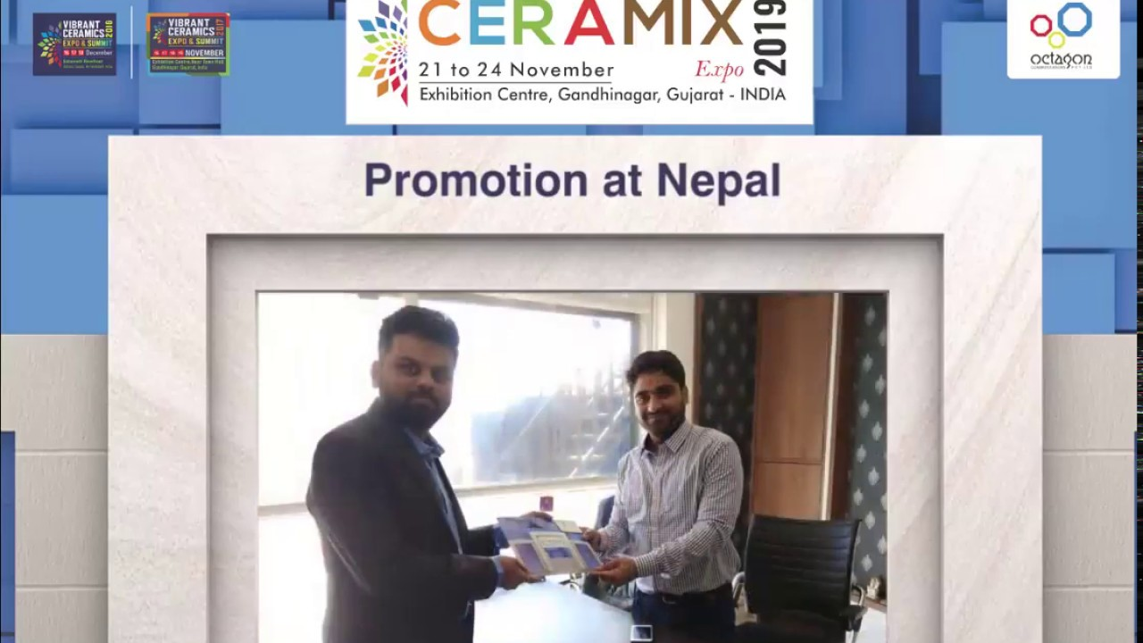 Promotion at Nepal- Ceramix Expo 2019