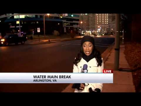 Major water main break closes part of King Street in Alexandria