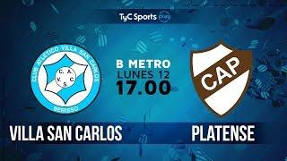 Villa San Carlos vs Club Atletico Pla. full match