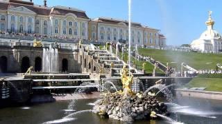 The Grand Cascade, Peterhof Palace, Saint Petersburg, Russia