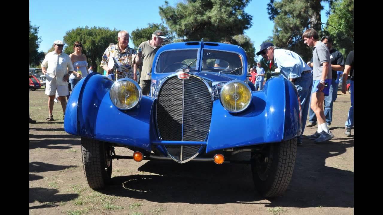 Jay Leno S 1937 Bugatti Type 57 Sc Atlantic At The French And Italian Show Youtube