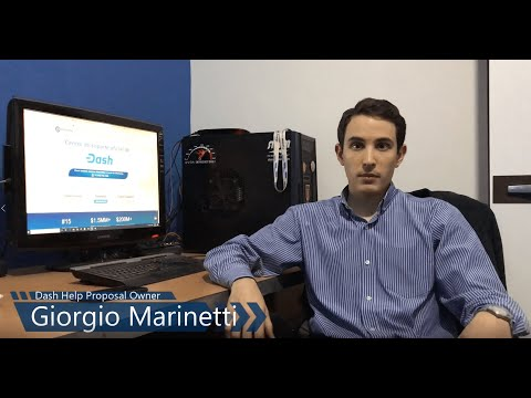 Dash Help Support & Training center: Briefing by Giorgio Marinetti (PO) + What's next