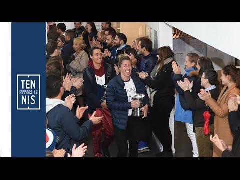 Victoire en Fed Cup : le retour des héroïnes à Paris !