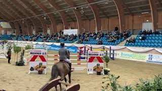Casmann clear and placed In the first round of the YR Danish Championships