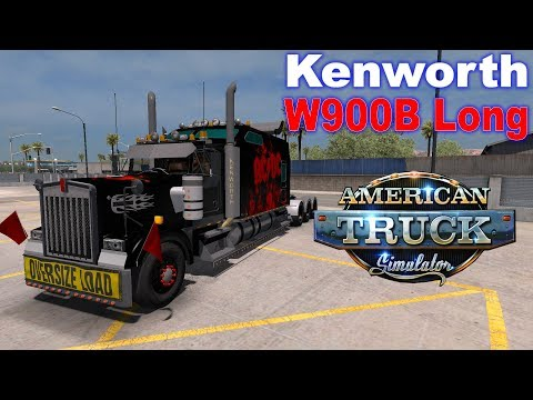 ATS 1.33 | Mobile Barrier | Kenworth W900B Long | ( G29 + Shifter + Wheel Cam )