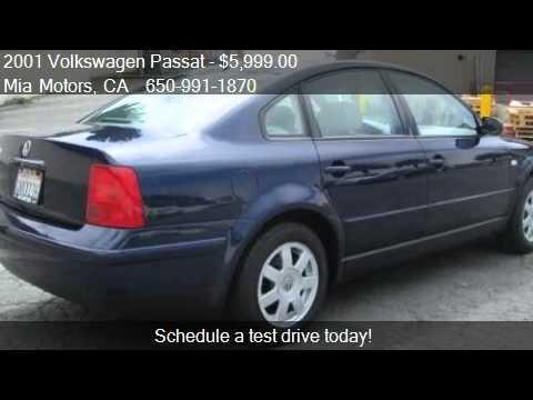 2001 Volkswagen Passat Gls For Sale In Daly City Ca