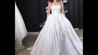 свадебное платье из микадо Византея