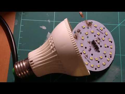 Réparer une ampoule led qui ne fontionne plus