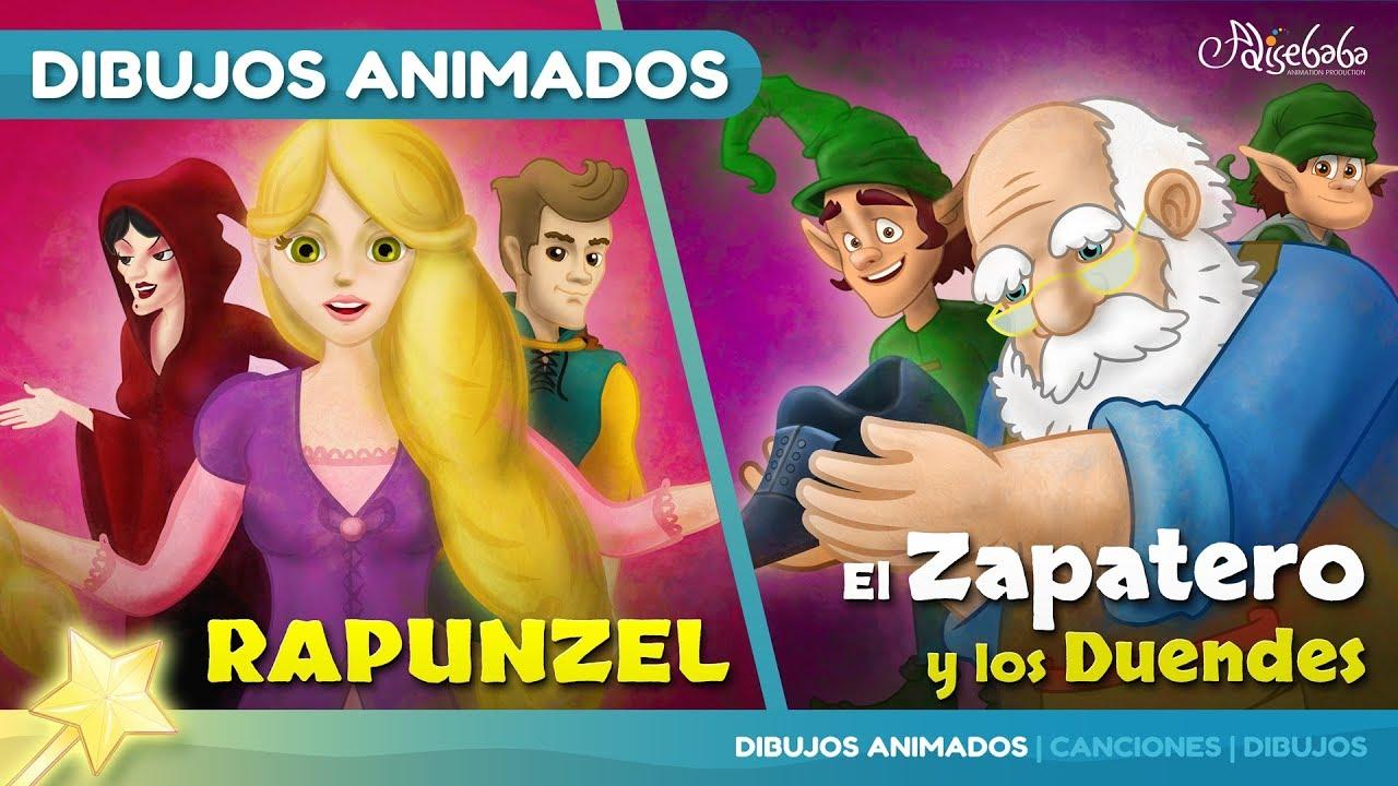 Rapunzel cuentos infantiles para dormir & animados