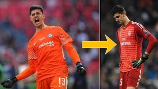 What the hell is happening to Thibaut Courtois? - Oh My Goal