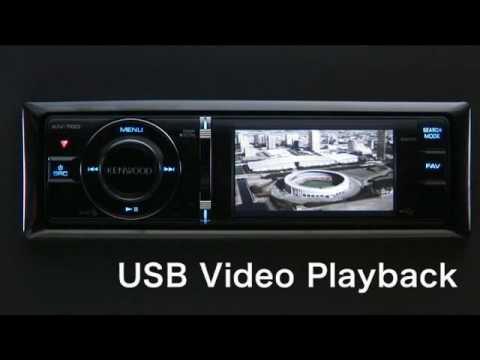 Kenwood KIV-700 Playback From USB Device