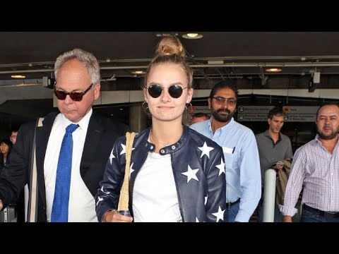 'Will' Actress Olivia DeJonge Looking Like A Star At LAX