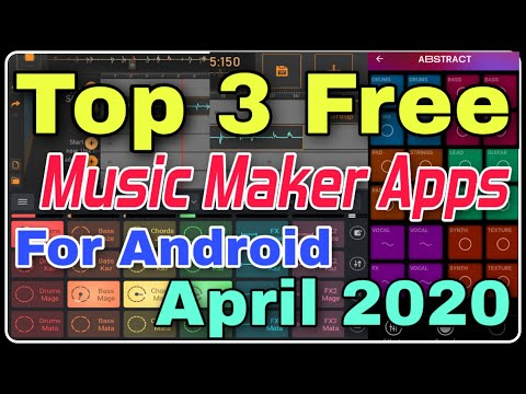 Top 3 Best Music Maker Apps For Android 😍Free Music Maker Apps🤗 | Top 3 Music Maker Apps 2020