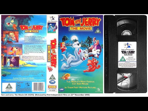 Opening of 'Tom and Jerry the Movie' (1994, UK VHS)