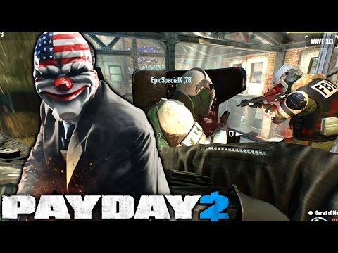 Defend the Safe House - Payday 2 Heisting