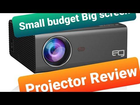 Small budget big screen   EG 6x miracast led projector   Led projector   egate projector review