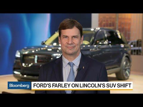 Ford's Farley On SUVs, China, Autonomous Cars, Tariffs