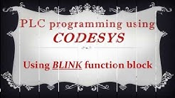 CODESYS: Using BLINK function block