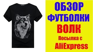 Обзор мужской футболки с AliExpress.