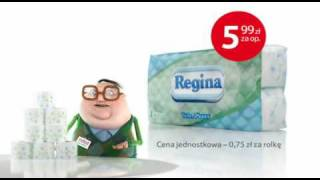 Reklama papieru i karkówki w Tesco