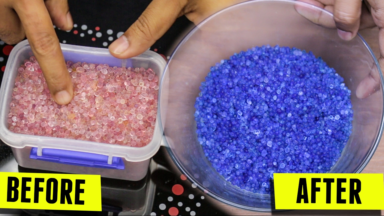 How To Recharge Used Silica Gel Reuse Or Reactivating