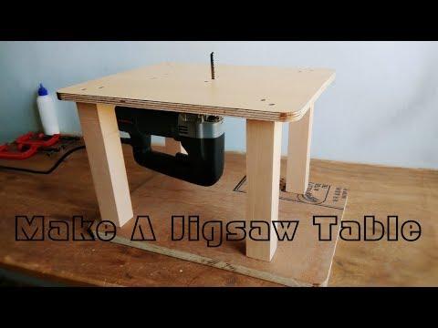 Homemade Jigsaw Table Machine || DIY  Jigsaw Table