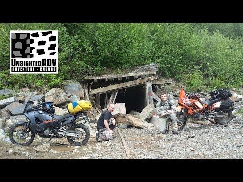 Abandoned Mine Moto-camping: KTM 990/950