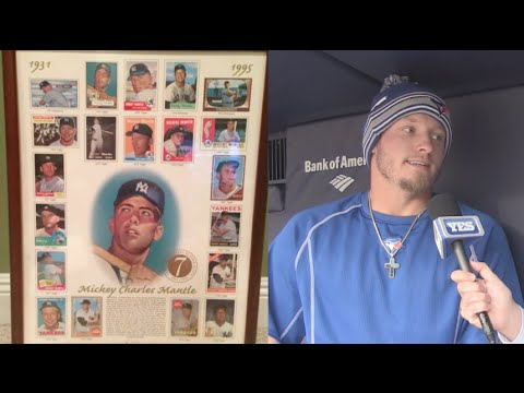 Josh Donaldson on Mickey Mantle cards, Derek Jeter, golf & more