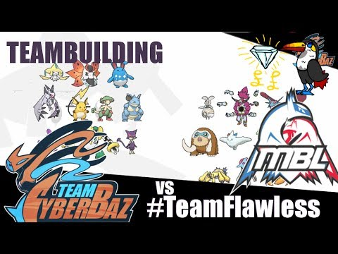 MBL S2W2: Teambuilding for #TeamFlawless w/ Cybertron + Baz Anderson